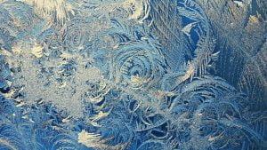 ledo grozis ant lango