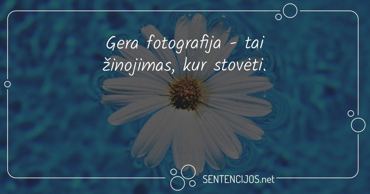 Gera fotografija