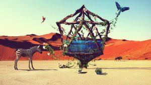 gyvunai-dykumoje
