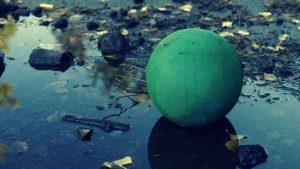 kamuoliukas-purve