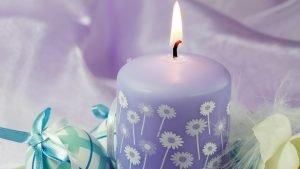 violetine-zvakute