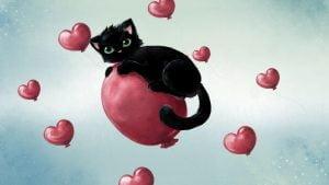 meile ir katinas